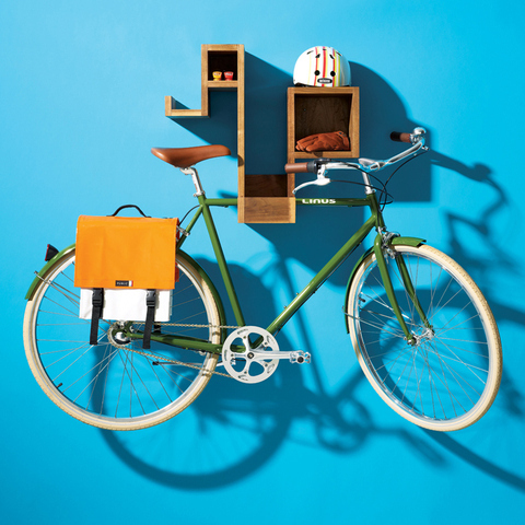 Clever bicycle storage options