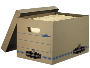 filing box storage and document storage